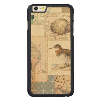 Coque Mince En Érable iPhone 6 Plus Collage de coquillage