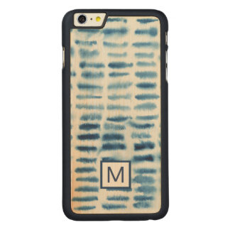 Coque Mince En Érable iPhone 6 Plus Copie d'aquarelle d'Indigio