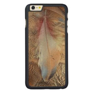 Coque Mince En Érable iPhone 6 Plus Fin de plume d'outarde du Sénégal