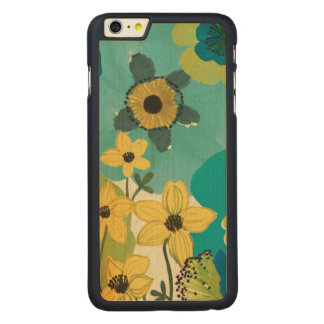 Coque Mince En Érable iPhone 6 Plus Fleurs décoratives de jardin