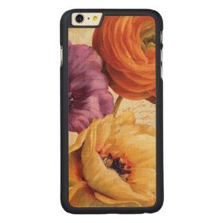 Coque Mince En Érable iPhone 6 Plus Floral en pleine floraison