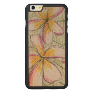 Coque Mince En Érable iPhone 6 Plus iPhone 6/6s plus le cas en bois d'érable mince par