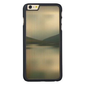 Coque Mince En Érable iPhone 6 Plus Lac dans les montagnes
