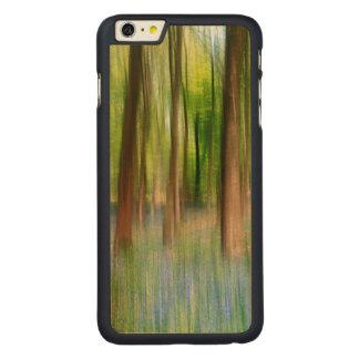 Coque Mince En Érable iPhone 6 Plus Région boisée BRITANNIQUE de chêne de jacinthe des