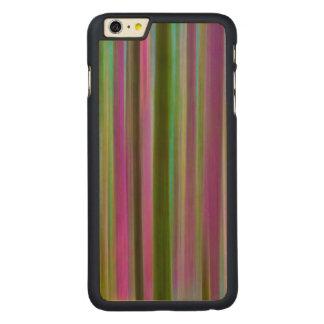 Coque Mince En Érable iPhone 6 Plus Résumé de forêt tropicale de Hoh au crépuscule  
