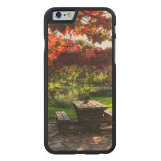 Coque Mince En Érable iPhone 6 Sun par le feuille d'automne, Croatie