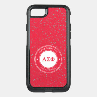 Coque OtterBox Commuter iPhone 8/7 Alpha insigne du phi | de sigma