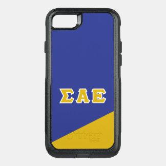 Coque OtterBox Commuter iPhone 8/7 Alpha lettres de Grec de l'epsilon | de sigma