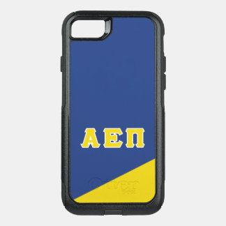 Coque OtterBox Commuter iPhone 8/7 Alpha lettres de Grec de l'epsilon pi |