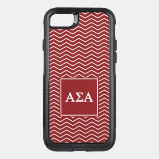 Coque OtterBox Commuter iPhone 8/7 Alpha motif de l'alpha | Chevron de sigma