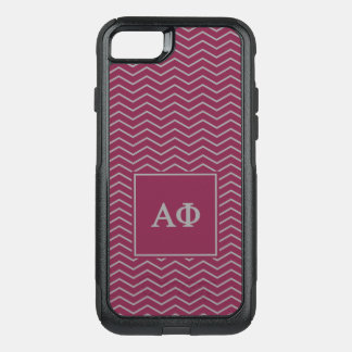 Coque OtterBox Commuter iPhone 8/7 Alpha motif du phi | Chevron