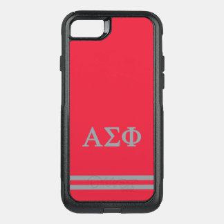 Coque OtterBox Commuter iPhone 8/7 Alpha rayure de sport du phi | de sigma