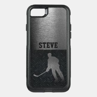 Coque OtterBox Commuter iPhone 8/7 Caisse rocailleuse de plat de diamant de nom