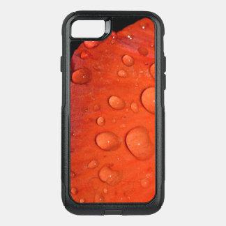 Coque OtterBox Commuter iPhone 8/7 Cas de téléphone - baisse rouge de pluie