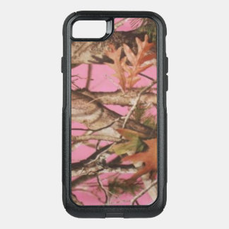 Coque OtterBox Commuter iPhone 8/7 Couverture rose de cas de téléphone de fille de