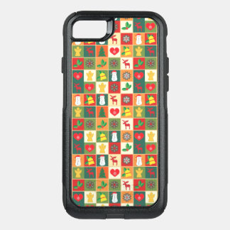 Coque OtterBox Commuter iPhone 8/7 Grand motif de Noël