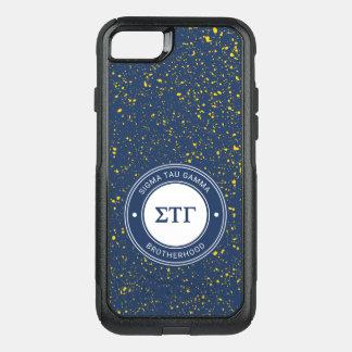 Coque OtterBox Commuter iPhone 8/7 Insigne du gamma | de Tau de sigma