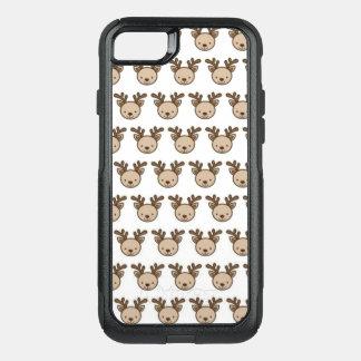 Coque OtterBox Commuter iPhone 8/7 iPhone de motif de renne 8/7 cas d'Otterbox