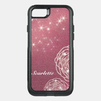 Coque OtterBox Commuter iPhone 8/7 Le diamant brillant s'est levé