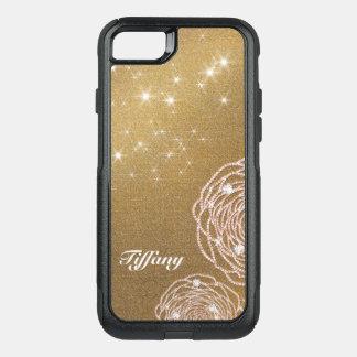 Coque OtterBox Commuter iPhone 8/7 Le diamant d'or s'est levé