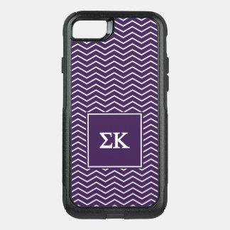 Coque OtterBox Commuter iPhone 8/7 Motif du Kappa | Chevron de sigma