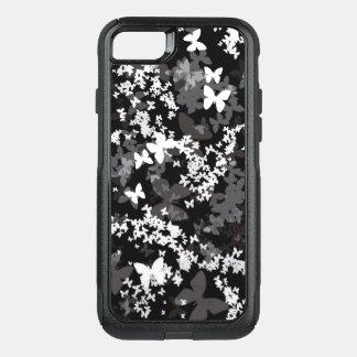 Coque OtterBox Commuter iPhone 8/7 Papillons dans la couleur blanc-gris-noire <3