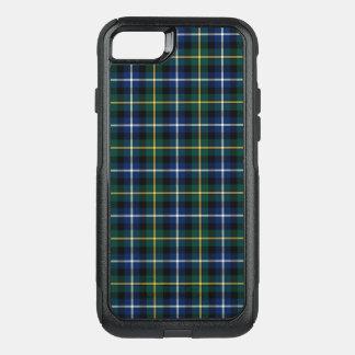 Coque OtterBox Commuter iPhone 8/7 Plaid bleu-foncé et vert de tartan de MacNeil de