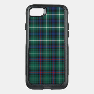 Coque OtterBox Commuter iPhone 8/7 Plaid de bleu marine et de vert de tartan de