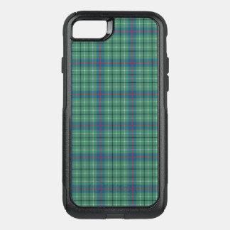 Coque OtterBox Commuter iPhone 8/7 Plaid vert clair de tartan antique de Duncan de