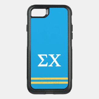 Coque OtterBox Commuter iPhone 8/7 Rayure de sport du Chi | de sigma