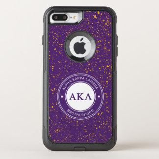 Coque OtterBox Commuter iPhone 8 Plus/7 Plus Alpha insigne du Kappa lambda |
