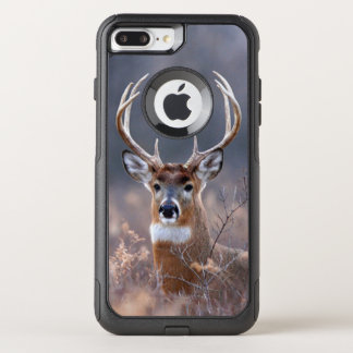 Coque OtterBox Commuter iPhone 8 Plus/7 Plus Automne de cerf de Virginie ou saison élégant