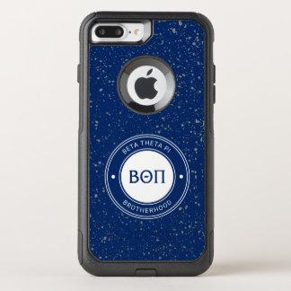 Coque OtterBox Commuter iPhone 8 Plus/7 Plus Bêta insigne du thêta pi |