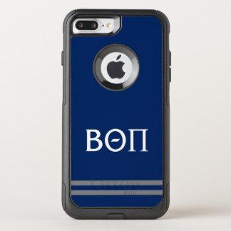 Coque OtterBox Commuter iPhone 8 Plus/7 Plus Bêta rayure de sport du thêta pi |
