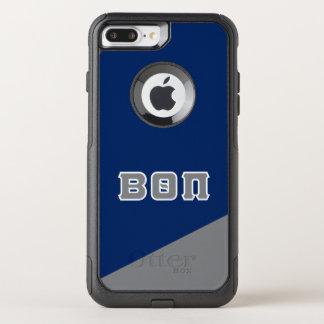 Coque OtterBox Commuter iPhone 8 Plus/7 Plus Bêtas lettres de Grec du thêta pi |