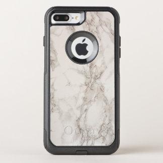 Coque OtterBox Commuter iPhone 8 Plus/7 Plus Cas plus de l'iPhone 7 en pierre de marbre de