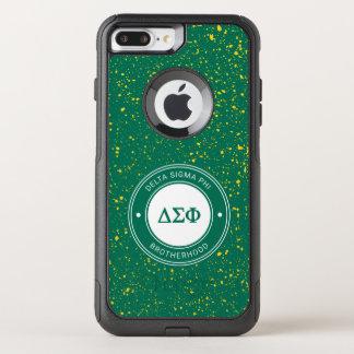 Coque OtterBox Commuter iPhone 8 Plus/7 Plus Insigne du phi   de sigma de delta