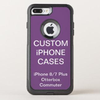 Coque OtterBox Commuter iPhone 8 Plus/7 Plus iPhone d'Otterbox personnalisé par coutume 8/7 cas