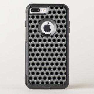 Coque OtterBox Commuter iPhone 8 Plus/7 Plus Maille argentée en métal