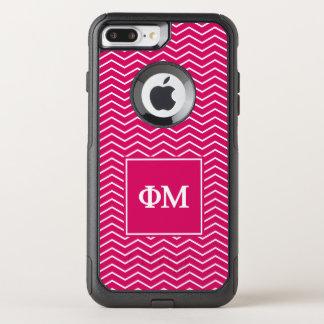 Coque OtterBox Commuter iPhone 8 Plus/7 Plus Motif de la MU | Chevron de phi