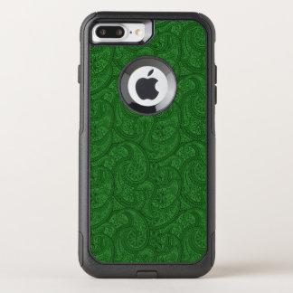 Coque OtterBox Commuter iPhone 8 Plus/7 Plus Paisley vert
