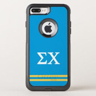 Coque OtterBox Commuter iPhone 8 Plus/7 Plus Rayure de sport du Chi | de sigma
