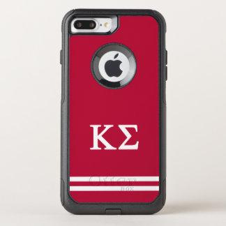 Coque OtterBox Commuter iPhone 8 Plus/7 Plus Rayure de sport du sigma | de Kappa