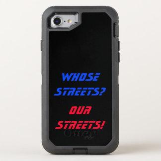Coque OtterBox Defender iPhone 8/7 À qui rues ? Nos rues ! Cas de téléphone