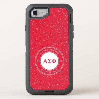 Coque OtterBox Defender iPhone 8/7 Alpha insigne du phi | de sigma