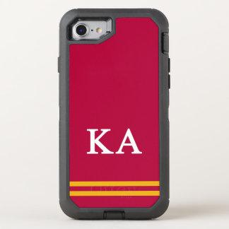 Coque OtterBox Defender iPhone 8/7 Alpha rayure de sport de l'ordre | de Kappa