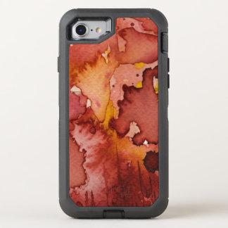 Coque OtterBox Defender iPhone 8/7 aquarelle 3 d'arrière - plan