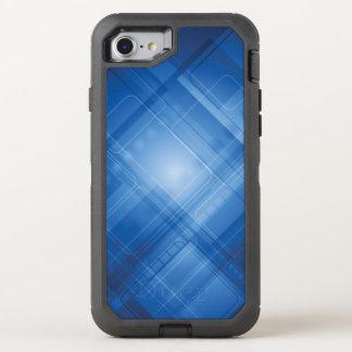 Coque OtterBox Defender iPhone 8/7 Arrière - plan de pointe bleu-foncé