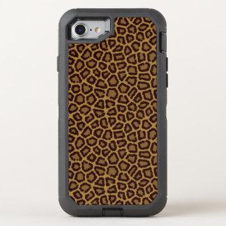 Coque OtterBox Defender iPhone 8/7 Arrière - plan de tuile avec une fourrure de