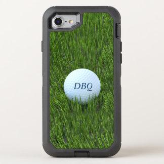 Coque OtterBox Defender iPhone 8/7 Boule de golf dans le rugueux personnalisée
